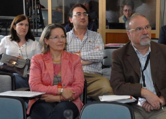 Imagen de los participantes del workshop de la universidad de castilla la mancha en 2011