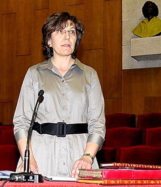Maria del Carmen Serrano vicerrectora de la Universidad de Valladolid y directora del Curso preparacion prueba de acceso a la universidad de Valladolid para mayores de 25 años y mayores de 45 años