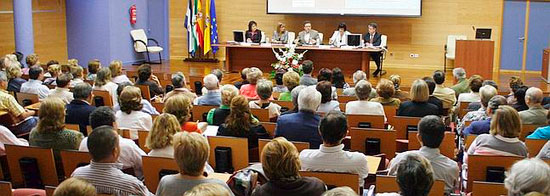 Imagen de un aula durante las pruebas de acceso a la Universidad de Cadiz 2013